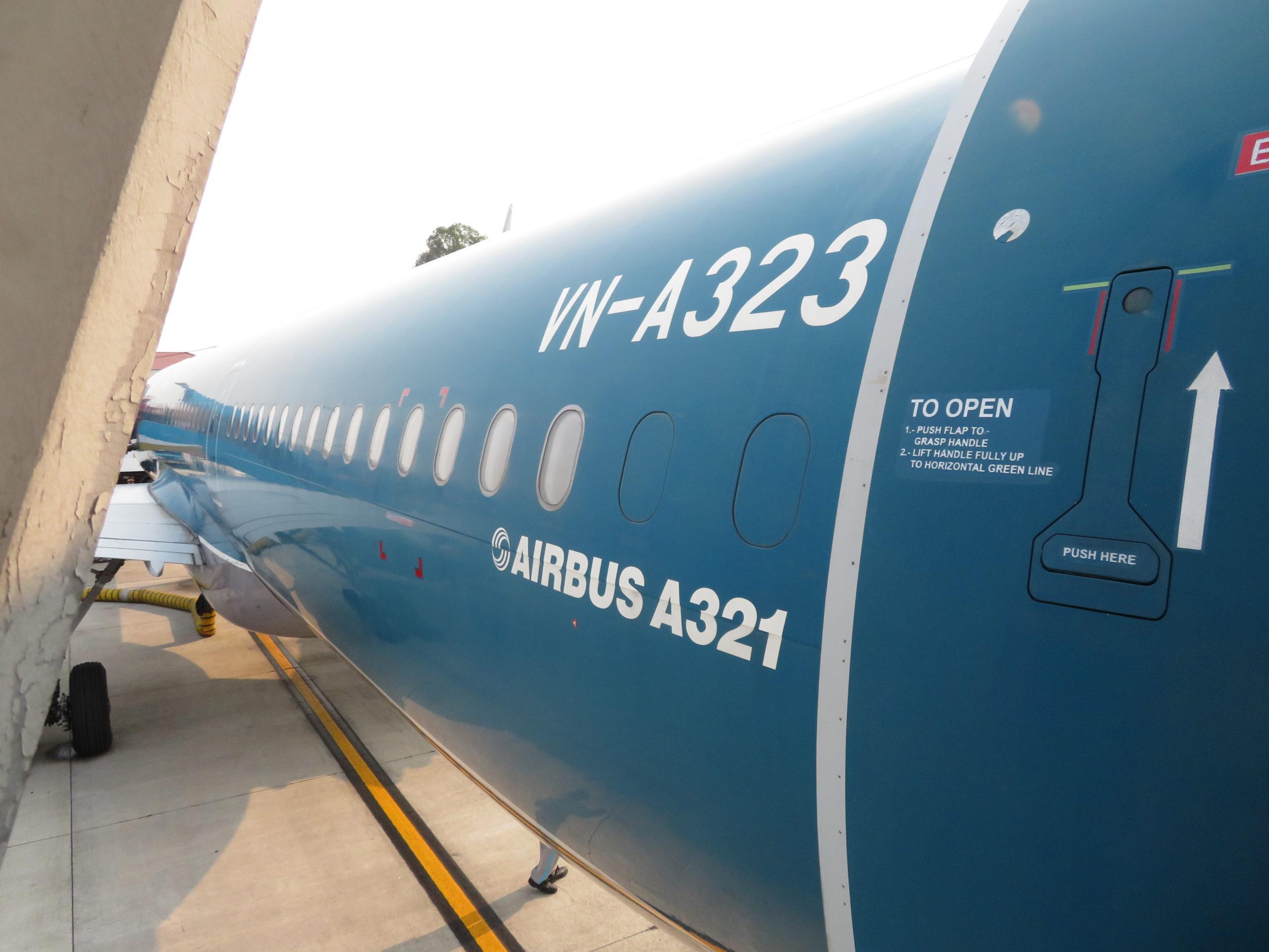ベトナム航空A320